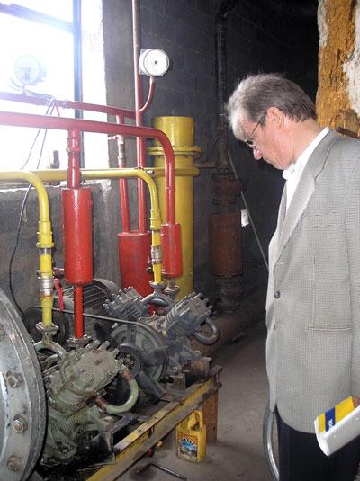 Компрессорное оборудование биогазовой установки ОАО Ак-Куу, Кыргызстан