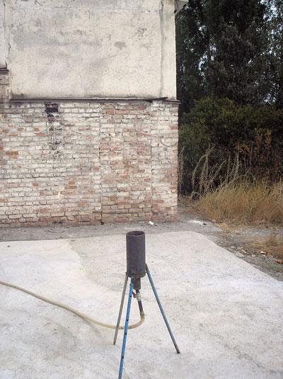 Факельная горелка для биогаза ОАО Ак-Куу