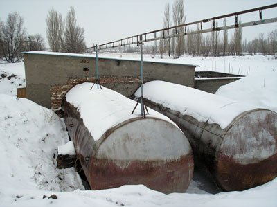 Installation of biogas plant in Gamburg Ltd, Kasakhstan