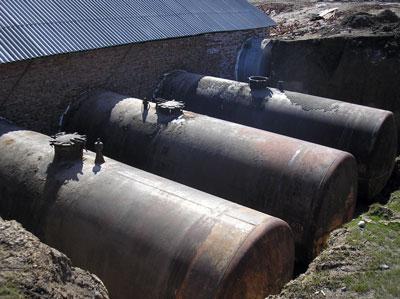 Installation of biogas plant in Lugovskoi Стадия Studhorse Farm, Kasakhstan