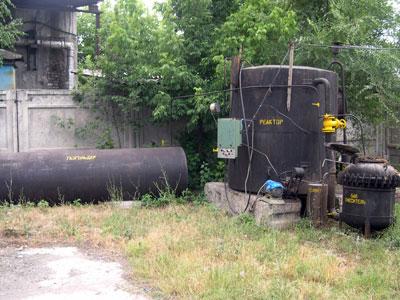 Биогазовая установка ОсОО Орион, Кыргызстан