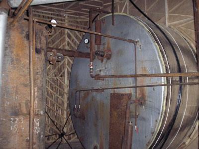 Монтаж реактора биогазовой установки Харламовой, Кыргызстан