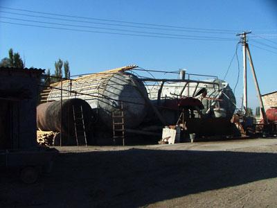Монтаж биогазовой установки ОсОО Бекпр, Кыргызстан