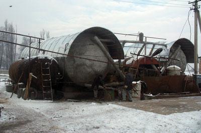 Монтаж установки ОсОО Бекпр, Кыргызстан