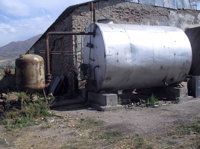 Биогазовая установка Садыбавева Олега