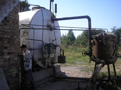 Биогазвая установка Садыбавева Олега, Кыргызстан
